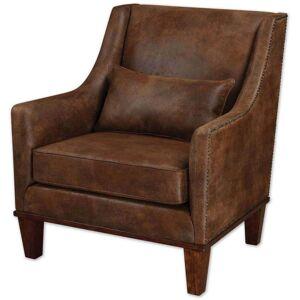 FranceSon Clay Leather Armchair