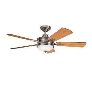 FranceSon 52 Inch Logan Fan - Antique Pewter
