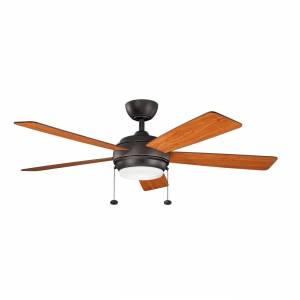 FranceSon Starkk 52 Inch LED Fan - Olde Bronze