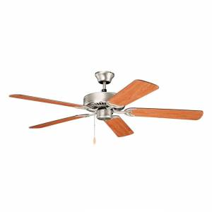FranceSon 52 Inch Kichler Basics Fan - Brushed Nickel