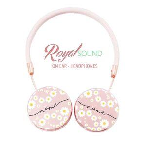 Gocase Royal Sound Headphones - Daisies Handwritten