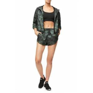Good American The Fast Track Running Short Camo002, Size 3