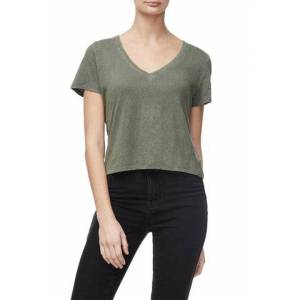 Good American The Worn-in Tee Olive002, Size 1