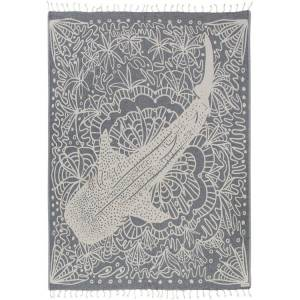 SandCloud Floral Whale Shark Large