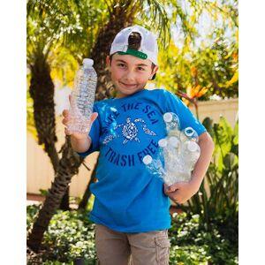 SandCloud Make The Sea Trash Free Recycled Kids Tee