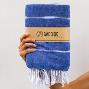 SandCloud True Blue XL Classic Stripes Recycled Towel
