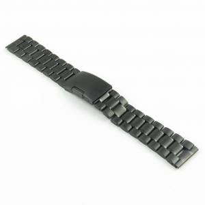 Strapsco Stainless Steel Oyster Watch Strap for Samsung Gear Sport