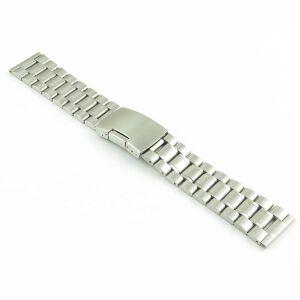Strapsco Stainless Steel Oyster Strap for Fossil Gen 5 Smartwatch