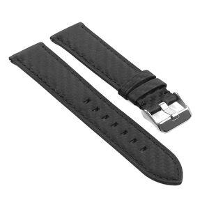 Strapsco DASSARI Carbon Fiber Strap for LG G Watch W100 & G Watch R W110