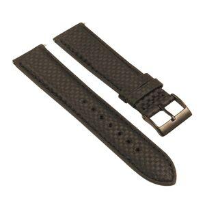 Strapsco Padded Carbon Fiber Strap w/ Black Buckle - Quick Release