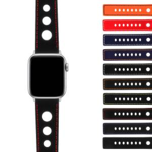 Strapsco Rubber Rally Strap for Apple Watch