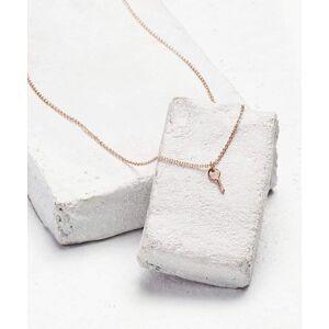 TheGivingKeys Rose Gold Mini Key Pendant Necklace