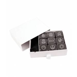 Stamp Out Online Ice Cube Trays basalt - Star Wars Personalized Whiskey Stones