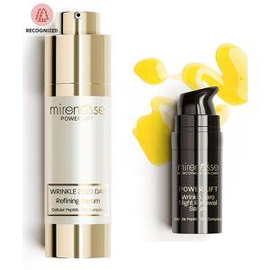 Mirenesse Australia Skin Serums & Treatments - Power Lift Wrinkle Zero Day Refining Serum & Night Bo