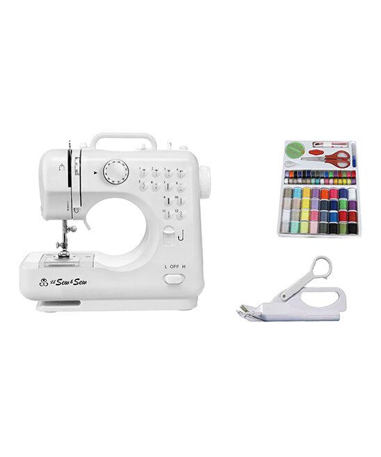 Michley Electronics Sewing Machine - 12-Stitch Desktop Sewing Machine Set