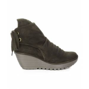 FLY London Women's Casual boots 022 - Sludge Yama Suede Boot - Women