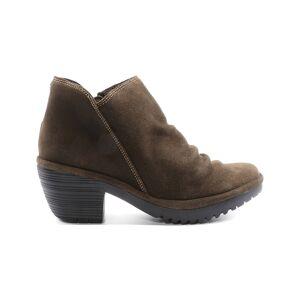 FLY London Women's Casual boots 005 - Sludge Wezo Suede Bootie - Women
