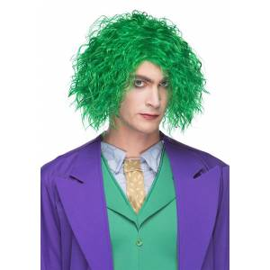 Westbay, Inc Evil Maniac Green Wig for Adults  - Green - Size: One Size