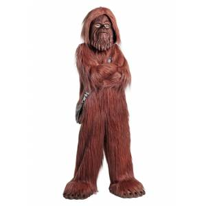 Princess Deluxe Star Wars Chewbacca Costume for Kids  - Yellow - Size: Small