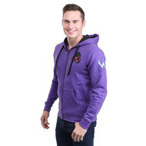 Jinx Ultimate Overwatch Widowmaker Hoodie  - Black/Purple - Size: Large