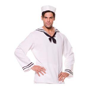 Underwraps Sailor Shirt  - White - Size: One Size