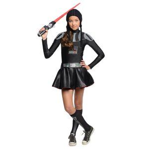 Rubies Costume Co. Inc Darth Vader Tween Dress Costume  - Black - Size: Small