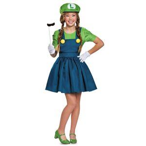 Disguise Tween Luigi Skirt Costume