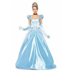 Leg Avenue Cinderella Costume: Classic Full Length Gown for Women