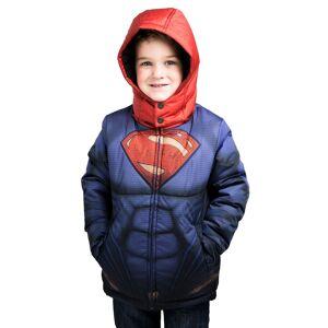 FUN Wear Kids Superman Puffer Jacket  - Red/Blue - Size: 12