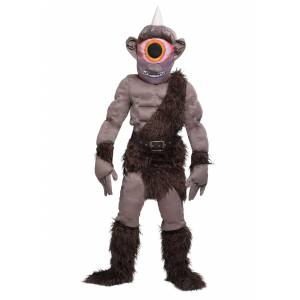 FUN Costumes Cyclops Costume for Boys  - Brown/Beige - Size: Extra Large