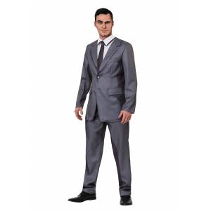 FUN Costumes Sterling Archer Adult Costume  - Gray - Size: Medium