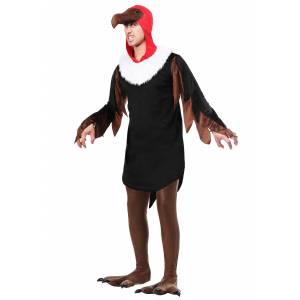 FUN Costumes Vulture Costume for Adults  - Black/Brown - Size: Extra Large