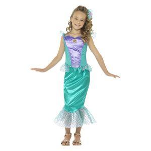 Smiffys Mermaid Girls Costume  - Purple/Green - Size: Small