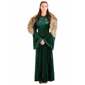 FUN Costumes Wolf Princess Women's Costume  - Green/Brown - Size: Extra Large
