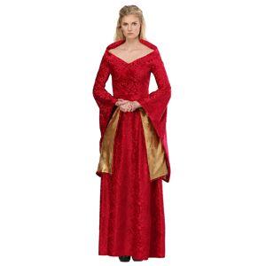 FUN Costumes Lion Queen Costume for Women  - Red/Orange - Size: Medium