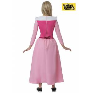 FUN Costumes Sweet Dee Always Sunny Princess Costume  - Red/Pink - Size: Small
