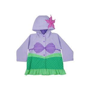 Western Digital Little Mermaid Ariel Raincoat  - Purple/Green - Size: 5