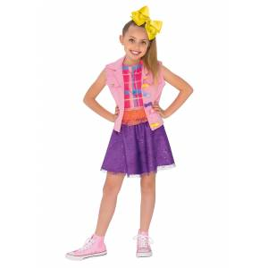 Rubies Costume Co. Inc Jojo Siwa Music Video Outfit Costume for Kids  - Pink/Purple/Yellow - Size: Large