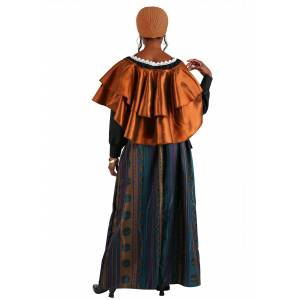FUN Costumes Coven Mistress Women's Costume  - Brown/Green - Size: Large