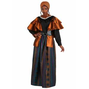 FUN Costumes Coven Mistress Women's Costume  - Brown/Green - Size: Extra Large