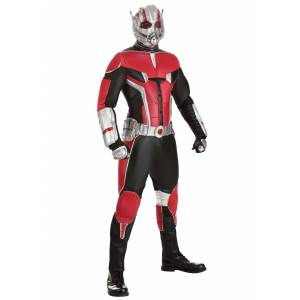 Rubies Costume Co. Inc Ant-Man Grand Heritage Adult Costume  - Black/Red/Gray - Size: ST