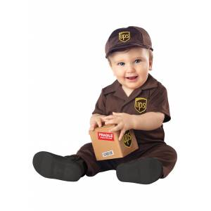 California Costume Collection UPS Costume for Babies  - Brown - Size: 6/12mo