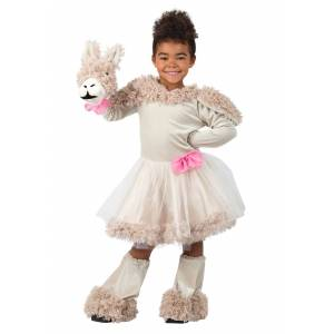 Princess Puppet Llama Costume for Girls