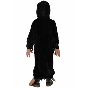Princess Fantastic Beasts Niffler Costume for Kids  - Black/Beige - Size: Extra Small