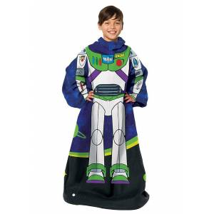 Northwest Company Youth Comfy Throw Toy Story Buzz  - Green/Blue/White - Size: One Size