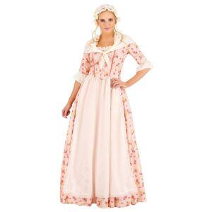 FUN Costumes Colonial Dress Women's Costume  - Pink/White - Size: Medium