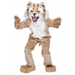 Rubies Costume Co. Inc Wildcat Mascot Costume  - Beige - Size: One Size