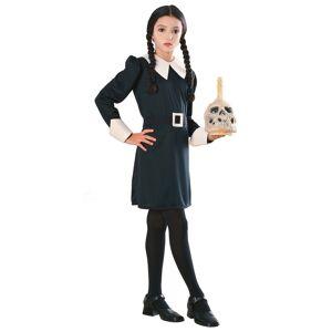 Rubies Costume Co. Inc Wednesday Addams Kids Costume  - Black - Size: Large