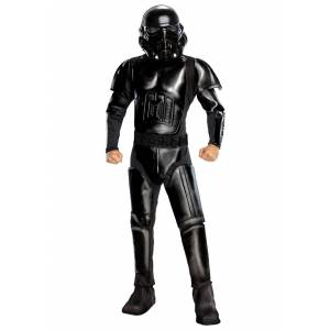 Rubies Costume Co. Inc Star Wars The Mandalorian Death Trooper Costume for Adults  - Black - Size: Extra Large