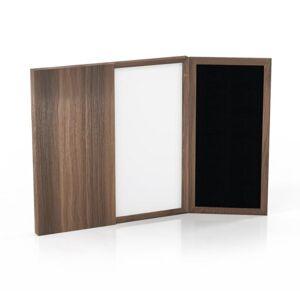 Mayline MNPBLGS 48 x 48 in. Medina Presentation Board, White Surface - Gray Steel Frame